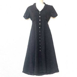 David Warren New York Vintage Dress Polka Dot Midi
